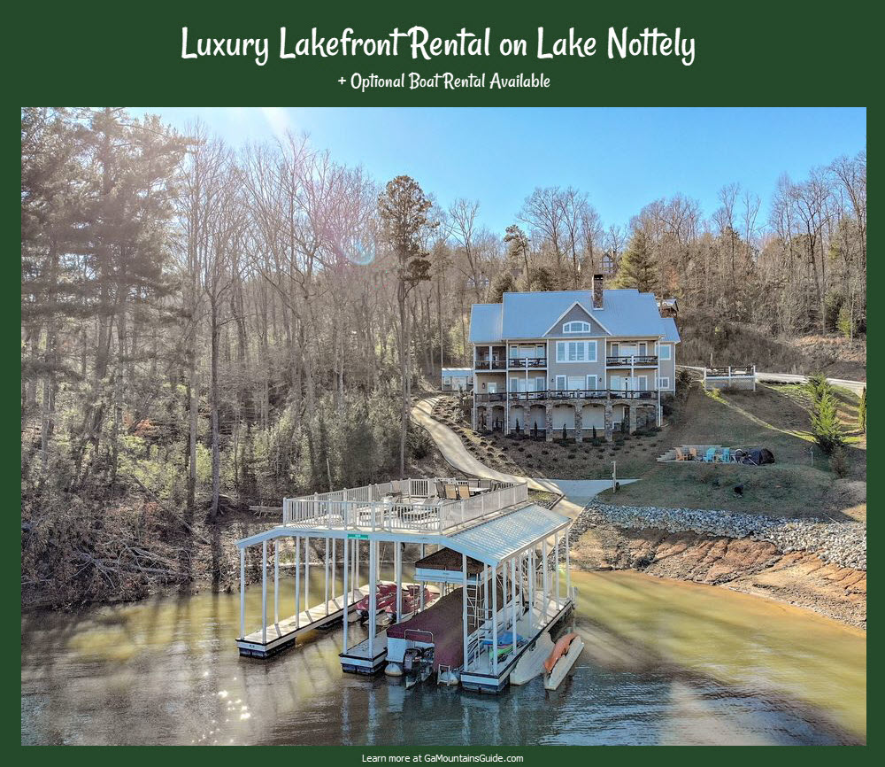 Lake-Nottely-Lakefront-Rental-With-Boat-VRBO