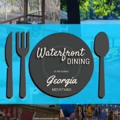Waterfront Dining at Restaurants in the North Georgia Mountains