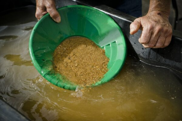 How to panning for gold Dahlonega Ga
