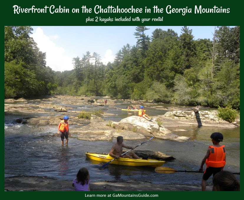 Rental-Cabin-Chattahoochee-River-Includes-Kayaks-Georgia-Mountains-VRBO-753977