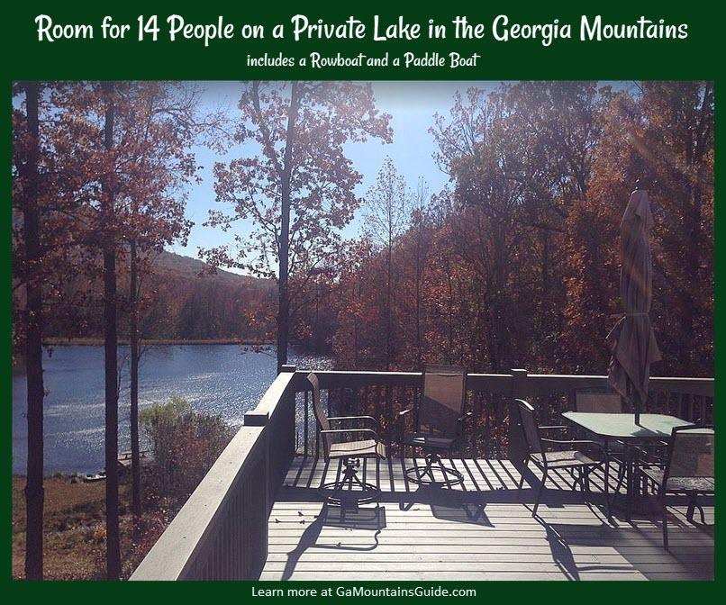 Rental-Cabin-Private-Lake-Georgia-Mountains-VRBO-243669