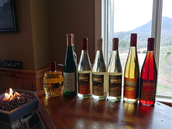 Currahee Vineyards White and Rose Wines