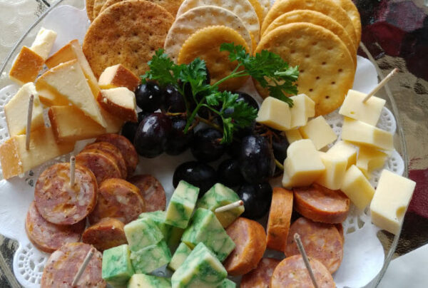 Charcuterie Plate for Purchase at Engelheim Vineyards in Ellijay