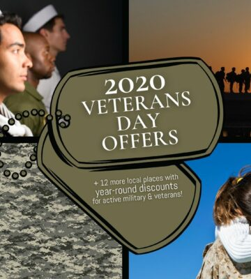 Best Free Veterans Day Deals and Offers for Veterans