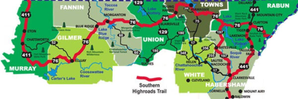 Georgia Portion of Southern Highroads Trail