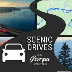 See maps & learn more about Scenic Drives in Georgia Mountains!
