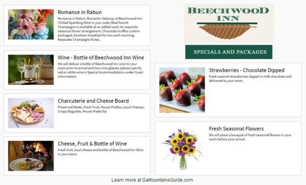 Beechwood Inn Specials
