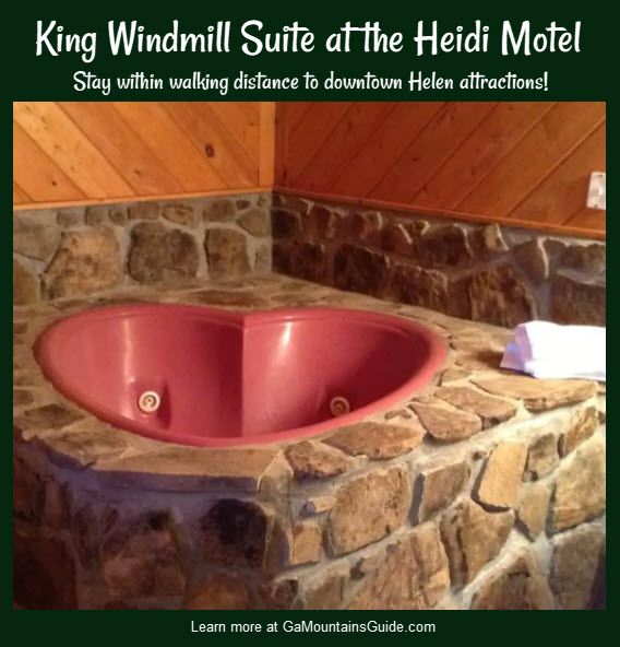 King Windmill Suite at the Heidi Motel in Helen, GA