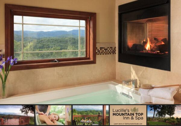 Lucille's Mountain Top Inn & Spa in Sautee Nacoochee Georgia