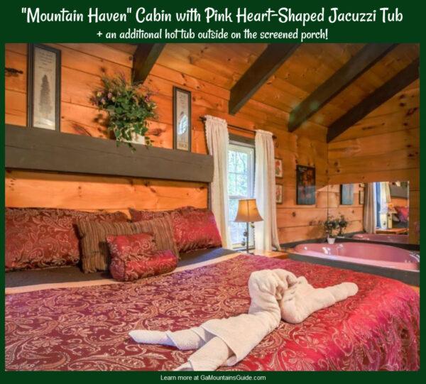 Romantic Getaways Georgia Mountains VRBO Mountain Haven