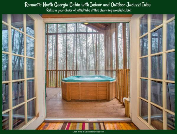 "Romantic Getaway Georgia Mountain ""Shasta Cabin"" VRBO Rental"
